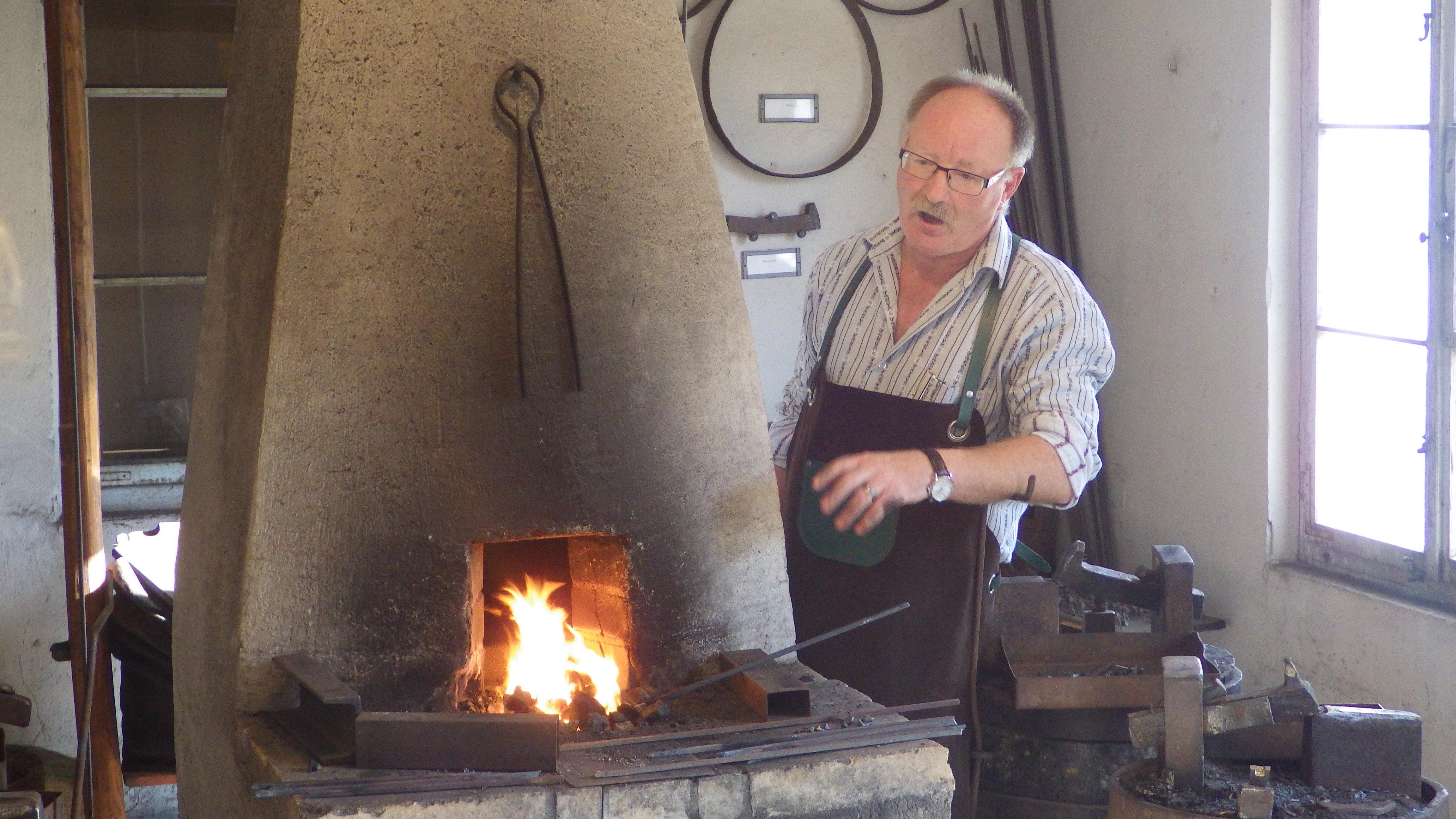 Nagler Geri Rüede erklärt sein Handwerk